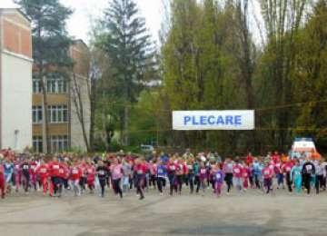Gabriela Szabo ia startul în concursul de atletism de la Bistrița care îi poartă numele