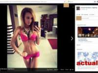 GAFĂ - Cristian Niculescu Țâgârlaș a postat poze cu o blondă în lenjerie intimă, în loc de poze cu biserici de lemn