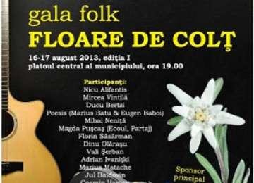 """Gala de Folk """"Floare de colț"""" va avea loc în zilele de 16 și 17 august"""