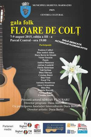 """Gala folk """"Floare de Colţ"""" - Aflaţi programul evenimentului"""