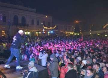 GALERIE FOTO - CRBL a susținut un concert incendiar în Sighet