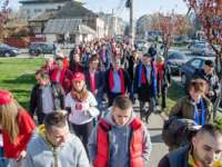 """GALERIE FOTO - Peste 500 de sigheteni au participat la """"Marșul eleganței"""", susținându-l pe Victor Ponta la funcția de Președinte al României"""