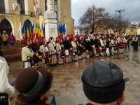 GALERIE FOTO: SIGHET - Festivitatea de depunere de coroane cu ocazia Zilei Naționale