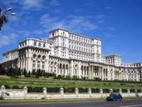 Geantă suspectă în holul de la intrarea în Palatul Parlamentului; SPP face verificări