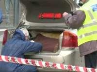 GIULEȘTI - Cine fuge repede, nu va fugi mult timp! Un hoț din Câmpulung la Tisa a încercat să fugă de poliție cu bunurile furate în portbagaj