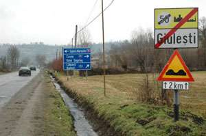 Giuleşti: Poluare cu produse petroliere