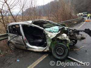 GONIND SPRE MOARTE: Un maramuresean si-a pierdut viata in urma unui accident de circulatie