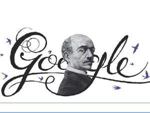 GOOGLE îl omagiază pe Vasile Alecsandri printr-un logo special
