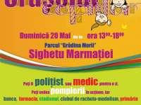 """GRĂDINA MORII - """"Orășelul copiilor"""", eveniment pentru cei mari și cei mici: demonstrații ale polițiștilor, pompierilor, medicilor și nu numai"""
