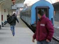 Grup de imigranţi, prinşi de poliţişti într-un tren la Timișoara
