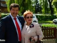 Gura păcătosului Adevăr grăiește! - Președinta Organizației Femeilor Liberale din Sighet, alături de viitorul Primar al Municipiului Sighet, Horia Scubli