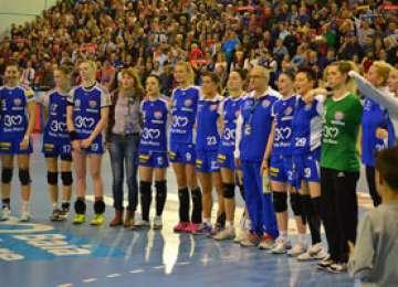 HANDBAL FEMININ: HCM Baia Mare – Dinamo Sinara 25-23