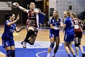 Handbal feminin: HCM Baia Mare o va întâlni pe U Neptun Constanța, în semifinalele Cupei României