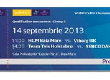 HANDBAL: HCM Baia Mare in meciurile de calificare in grupele principale ale Ligii Campionilor