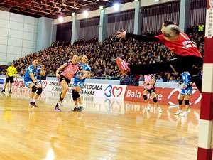 Handbal: HCM Baia Mare, învinsă de CSM București