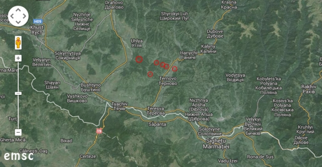 Cutremur de 3.7 grade resimțit în Sighetu Marmației