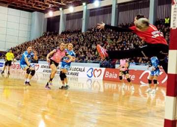 HCM Baia Mare a câștigat în deplasarea de la Viborg și speră la sferturile de finală