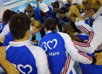 HCM Baia Mare a obținut o primă victorie din deplasare în Liga Campionilor