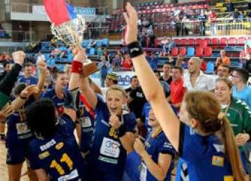 HCM Baia Mare, calificată direct în grupele Ligii Campionilor la feminin