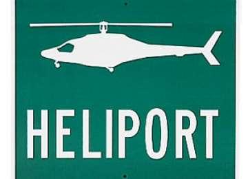 Heliport la Spitalul din Sighetu Marmatiei