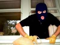 Hoţ identificat la scurt timp după ce a intrat prin efracţie într-un imobil