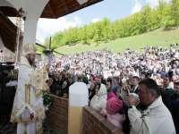 Hram la Mănăstirea Ortodoxă Ucraineană Sfântul Ioan Botezătorul din Ruscova