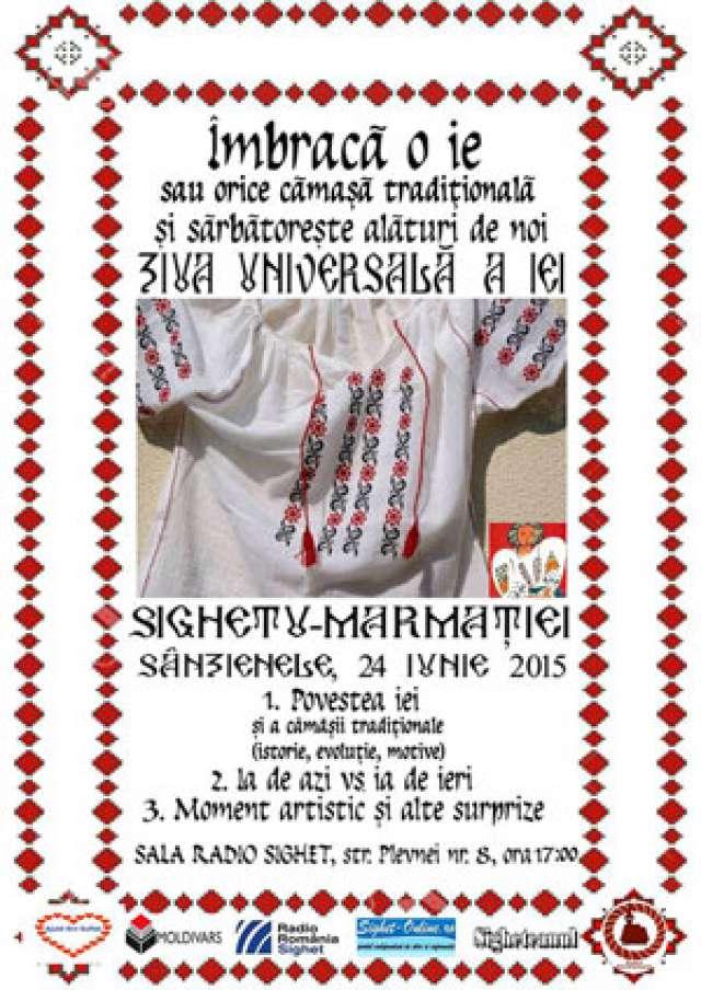 Ziua Universala a IEI, celebrată de Sânziene în Sighetu-Marmației
