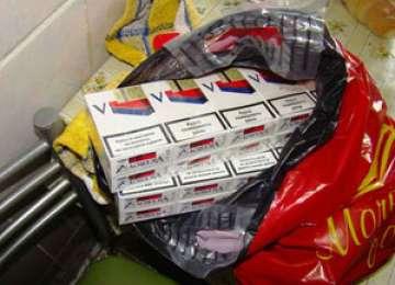 Ţigări de contrabandă în valoare de 175.000 lei, confiscate de Polițiștii de frontieră