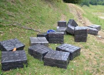 Ţigări în valoare de aproximativ 359.000 lei confiscate  la frontiera de nord