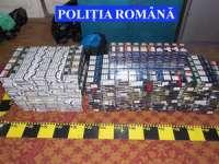Ţigări în valoare de aproximativ 55.000 de lei confiscate de poliţiştii maramureșeni