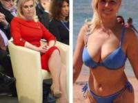 Imagini incendiare cu președinta Croației