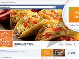 În curând vom putea comanda mâncare pe Facebook