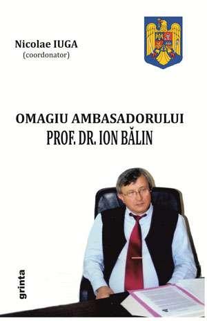 IN MEMORIAM ION BĂLIN - Lansare de carte în cadrul Festivalului Internațional de Poezie