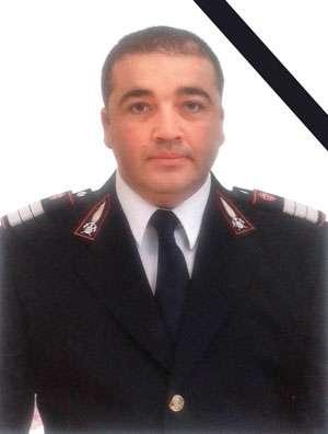 IN MEMORIAM Plt.adj. Sandu-Marin Arba din cadrul Detașamentului de Pompieri Sighetu Marmației