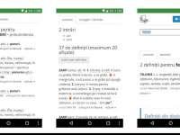 În timpul simulărilor la limba română pentru clasele a VIII-a şi a XII-a, DEX online a înlocuit câteva definiţii