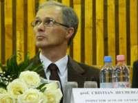 """În urma discuțiilor avute cu primarul Cătălin Cherecheș, Cristian Heuberger a decis s rămână în continuare director la C. N. """"Gheorghe Șincai"""""""