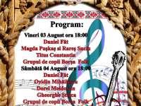 ÎN WEEKEND: Concerte de muzică folk la Borșa