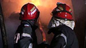 INCEDIU VIOLENT ÎN BORŞA - O grădiniță a fost distrusă de flăcări din cauza unui cablu defect