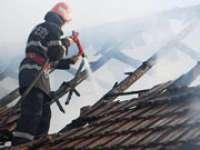 Incendii în Borşa şi Sârbi, lichidate de pompieri