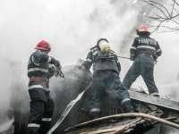 INCENDIU - Acoperișul unei case din Cavnic a luat foc