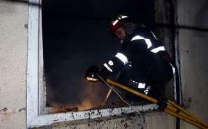 INCENDIU: Brutăria şi grădiniţa din Călineşti, mistuite de flăcări