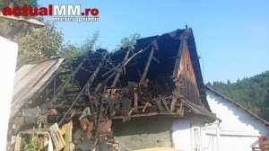 INCENDIU – În Cavnic a ars complet o casă rezultând cinci victime: 4 copii și o femeie.