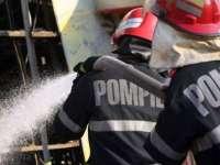 Incendiu lichidat de pompierii sigheteni