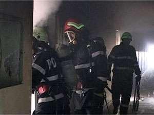 INCENDIU – O casă a luat foc în Moisei