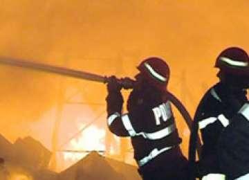 Incendiu puternic la un restaurant din centrul Clujului