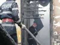 INCENDIU – Un apartament din Sighet a luat foc