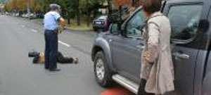 INCREDIBIL - Două accidente rutiere grave în acelaşi loc