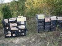 INCREDIBIL - Ţigări de contrabandă de peste 180.000 lei trecute peste frontieră  cu ajutorul unui scripete