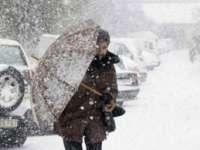 Informare meteo de ninsoare, precipitații mixte și polei, valabilă miercuri în întreaga țară