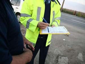 Infracţiuni la regimul circulaţiei constatate de poliţiştii maramureşeni